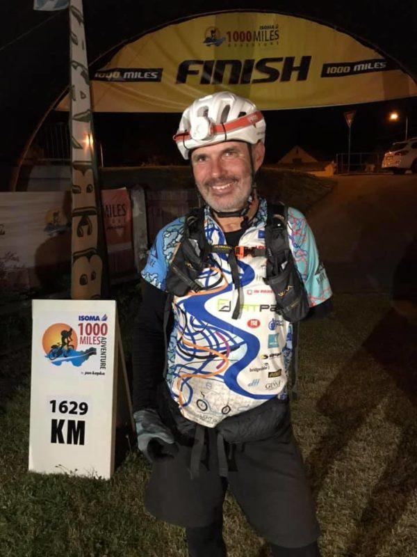 Richard Štěpánek na závodu 1000 miles
