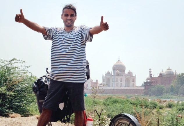 Marek Jelínek v Indii