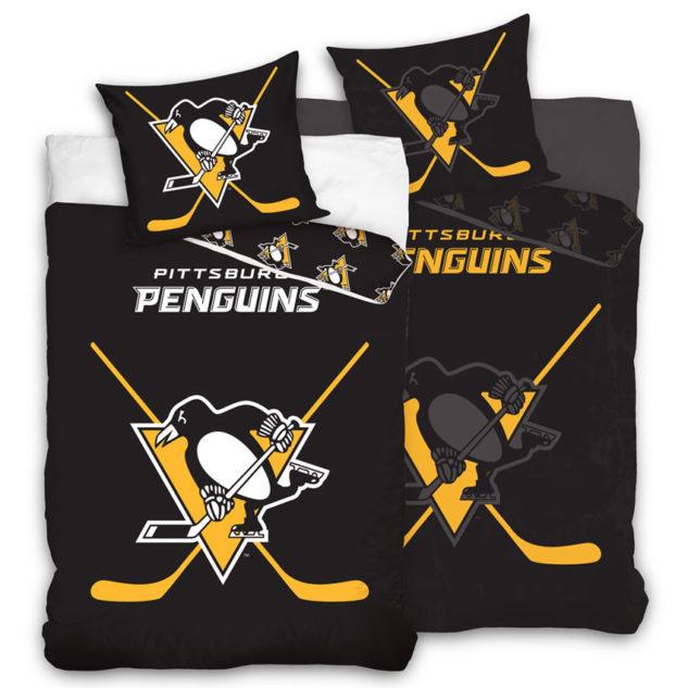 Svítící povlečení Pittsburgh Penguins