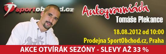 Autogramiáda Tomáše Plekance
