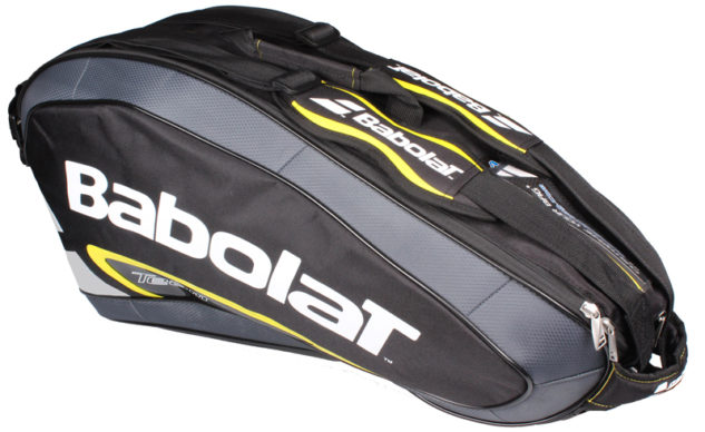 Taška na rakety Babolat Team Line Racket Holder X6 Yellow