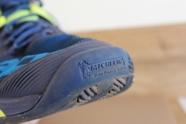 špička tenisové boty Babolat Propulse Rage Clay