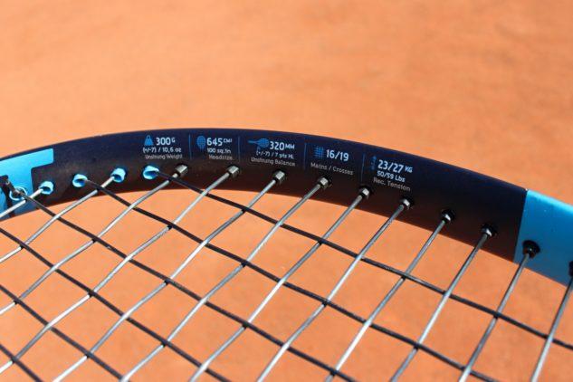 Parametry tenisové rakety Babolat Pure Drive 2021