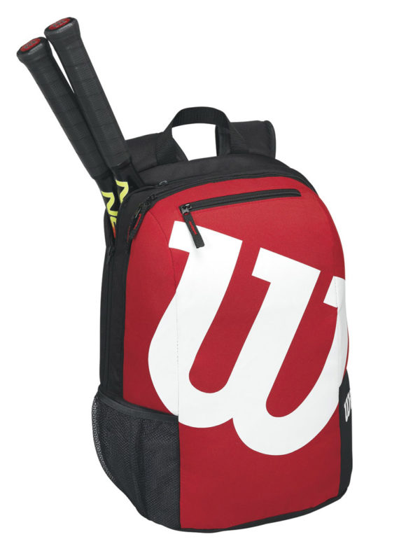 Batoh na rakety Wilson Match II Backpack Black/Red