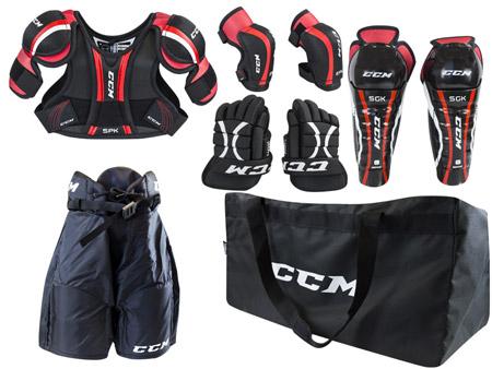 Dětský set chráničů CCM U+ Entry Kit Yth