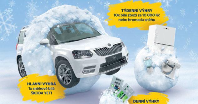 Zapojte se do soutěže a vyhrajte auto Škoda Yeti.