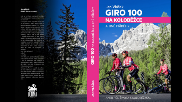 Obálka knihy Giro 100 na koloběžce