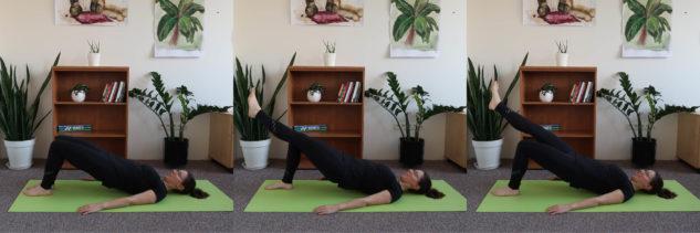 Cvičení - zdvihy pánve