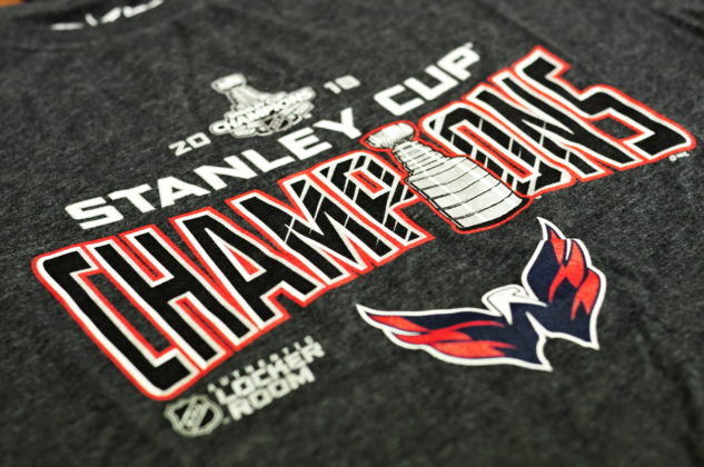 Pánské tričko Fanatics Locker Room NHL Washington Capitals