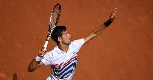 Novak Djoković na French Open 2017
