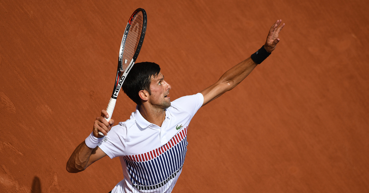 Novak Djoković na French Open 2017