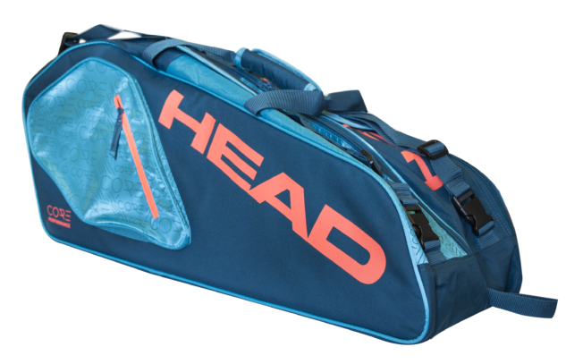 Taška na rakety Head Core Combi 6R Blue/Orange