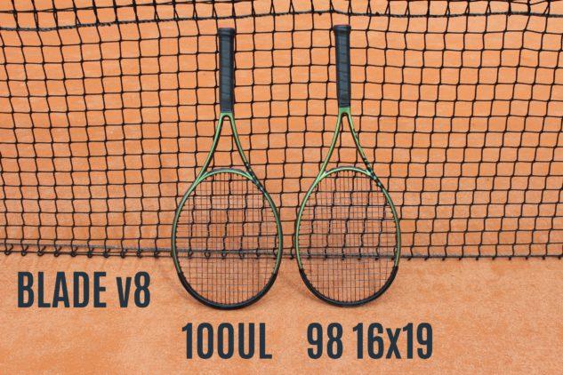 Ultralehká varianta 100UL a oblíbená 98palcová hlava.