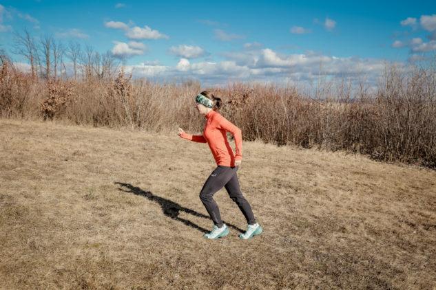 jak dýchat při běhání