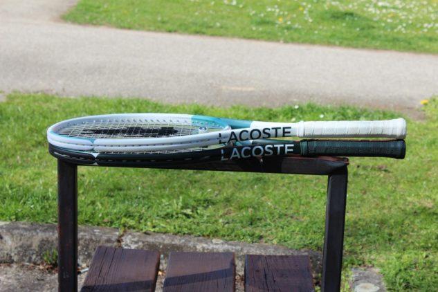 Tenisové rakety Lacoste L20 a L20L.