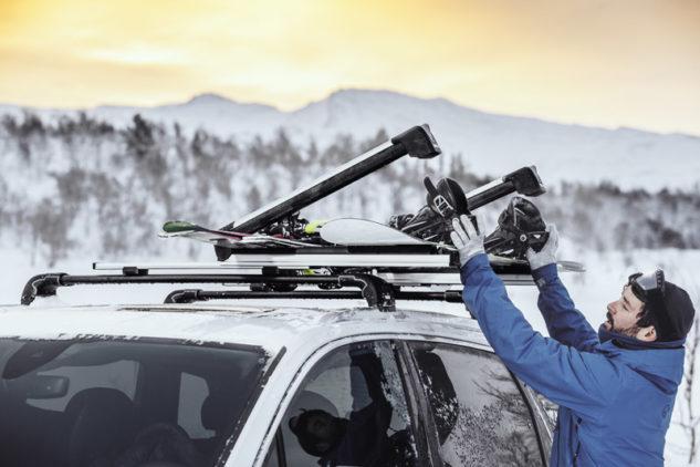 Nosič lyží Thule