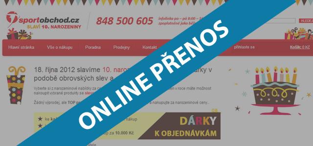 ONLINE-PRENOS