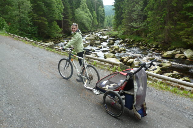 Vaši děti si jízdu ve vozíku zamilují