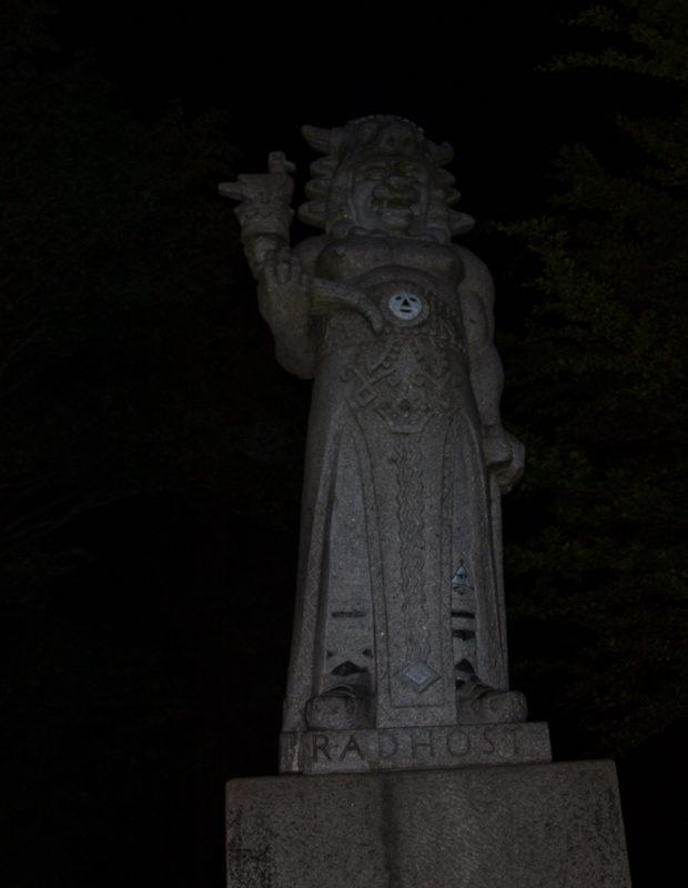 V noci budí Radegast ještě větší respekt