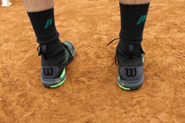 Tennisschuhe Wilson Amplifeel 2.0 Clay haben einfaches gelungenes Design