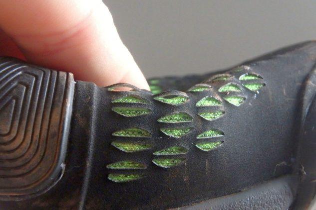 Tennisschuhe Wilson Amplifeel 2.0 Clay erinnert an einen Gecko