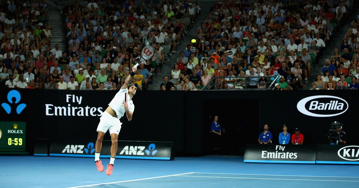 Roger Federer na Australian Open 2018