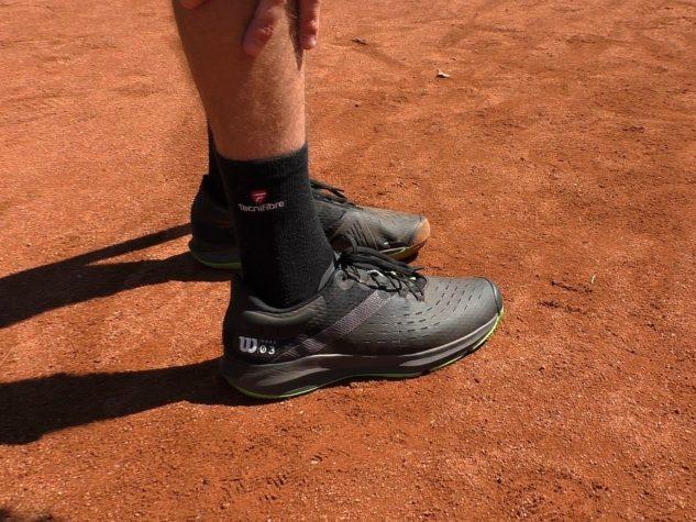 Wilson Kaos 3.0 Clay jsou lehké boty nejen pro turnajové hráče.