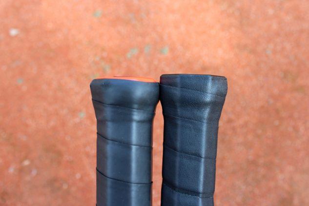 Tenisová raketa Wilson Pro Staff RF 97 v13 je ve skutečnosti o 2–3 mm delší než běžná verze Pro Staff 97 v13.