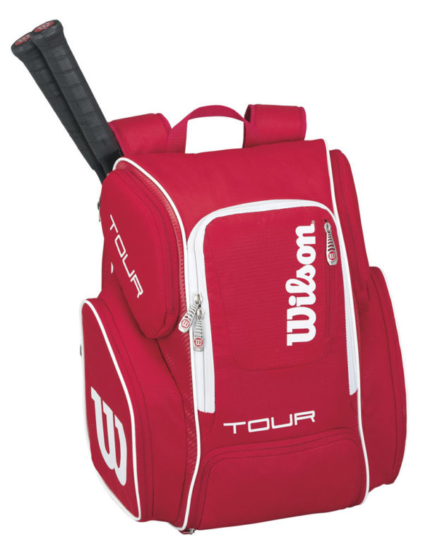 Batoh na rakety Wilson Tour V Backpack Red