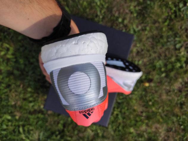 Pata bot adidas Boston 8 má dobré vyztužení.