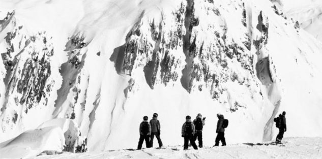 Holger Feist s týmem v Arlbergu v Rakousku
