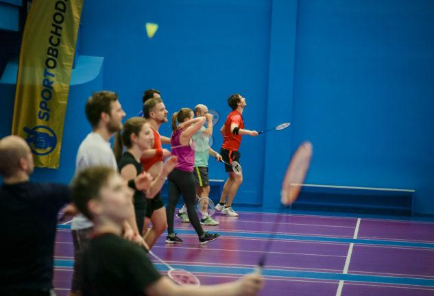 Testování badmintonových raket v brněnské Xarena Slatina navštívilo 100 hráčů a hráček