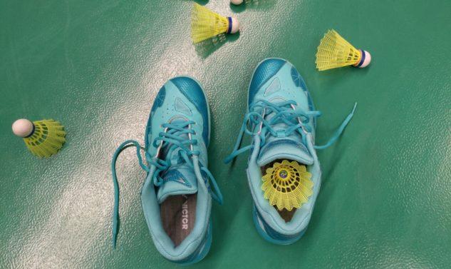 Sálová obuv na badminton Victor A362 RG