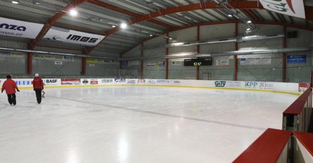 Hokejová hala dětí a mládeže za Lužánkami