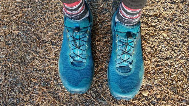 testování běžeckých bot Salomon Sense Ride 3