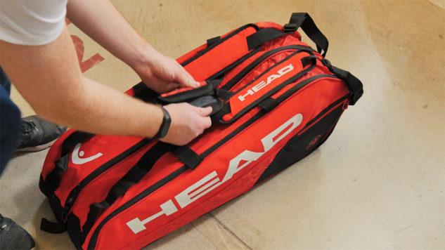 Tenisový bag Head Core 6R nabízí naprostou jednoduchost.