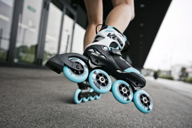 Jízdu s novým S-rámem kolečkových bruslí K2 si jednoduše užijete.