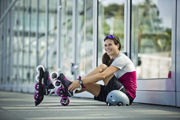 Inliner K2 VO2 S 100 X Pro W stellen eine ideale Wahl für erfahrene Schlittschuhläuferinnen dar