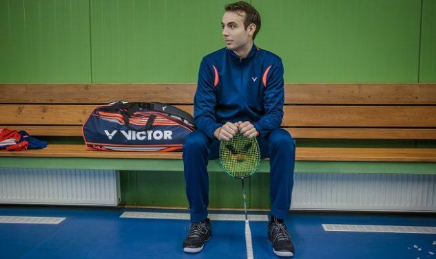 badmintonový trenér Michal Světnička