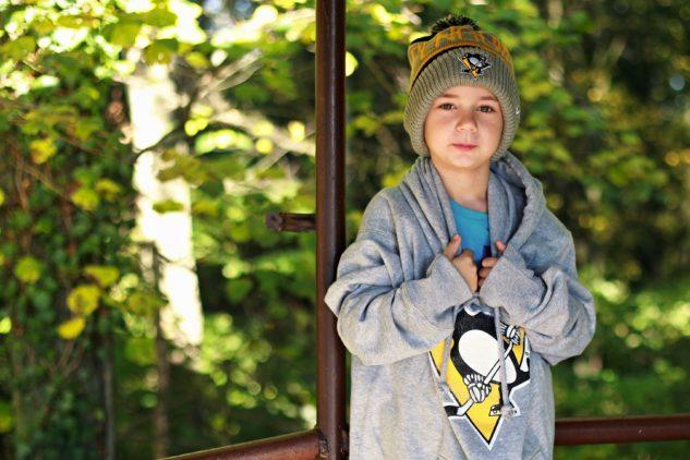 Zimní čepice a mikina '47 Brand pro fanoušky Pittsburgh Penguins