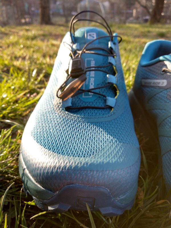 šněrování běžeckých bot Salomon Sense Ride