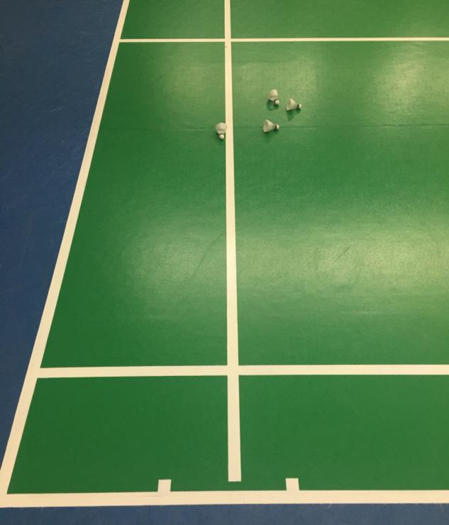 Testování míčů Victor Carbonsonic