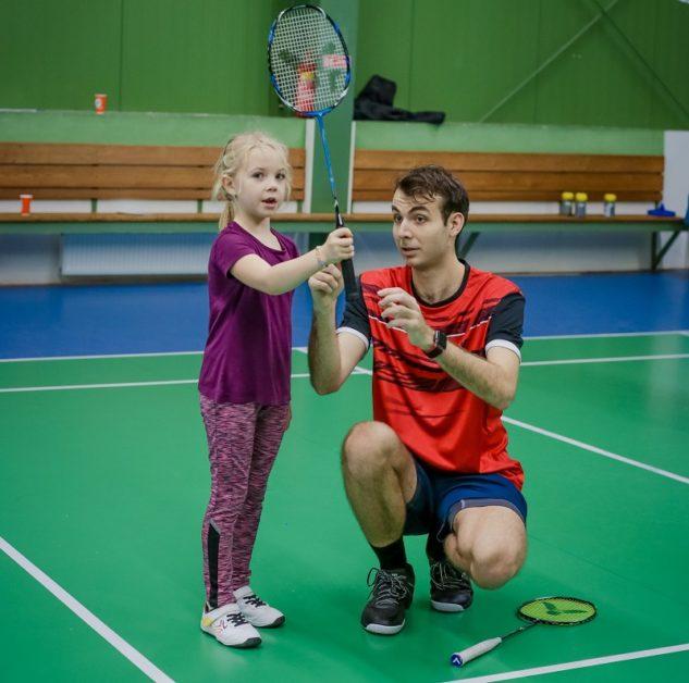 testování badmintonových raket s Michalem Světničkou
