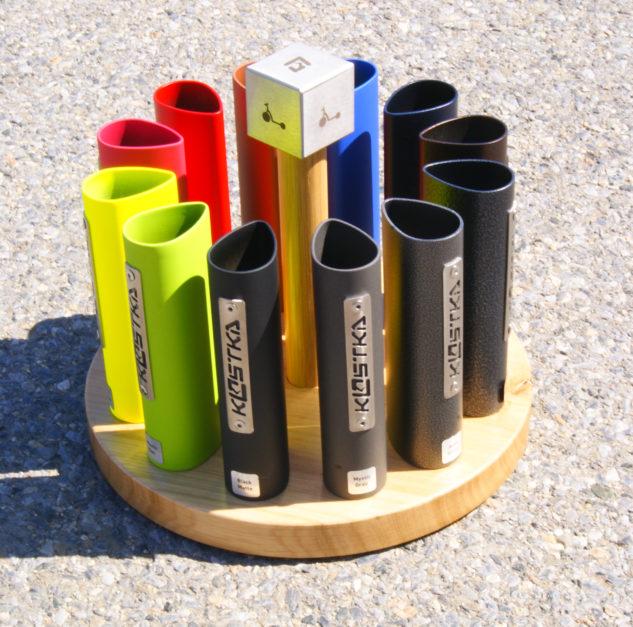 Vzorník nových barev koloběžek Kostka