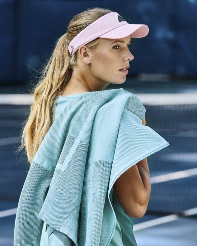 Loňská vítězka Australian Open Caroline Wozniacki