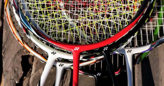 Badmintonové rakety Yonex